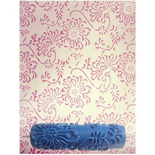Generico - 7 pollici rullo da pittura crea effetto rilievo senza manico per decorazioni pareti casa motivo #3