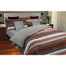 Funda nórdica estampada Étnica MALU (Para cama de 135x190/200 (Nórdico de 220))