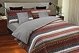 Juego de sábanas estampado Étnico MALU (para cama de 135x190/200)