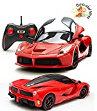 #3: Awws & Wows Remote Controlled Ferrari Super Car with Door Opening & Close features (Red)