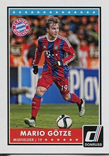 Donruss football 2015 Base Mario Gotze carte#46