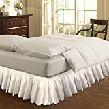 Fastar Bed Skirt,Wrap Around Style,Easy Fit Cotton Embroider - Best Reviews Guide