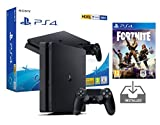PS4 Slim 500Gb Negra Playstation 4 Consola Pack + Fortnite: Battle Royale [Preinstalado]