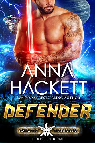 Picture of Defender: A Scifi Alien Romance (Galactic Gladiators: House of Rone Book 2)
