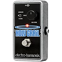electro-harmonix Holy Grail - Pedal de efecto reverb para guitarra, color plateado