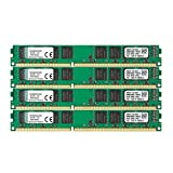 Kingston KVR(1333D3N9K4/32G - Memoria RAM de 32 GB (1333 MHz DDR3 Non-ECC CL9 DIMM Kit (4x8 GB) 240-pin, 1.5V)