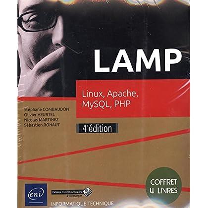 LAMP - Coffret de 4 livres : Linux, Apache, MySQL, PHP (4e édition)