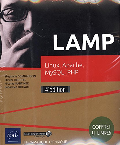 LAMP - Coffret de 4 livres : Linux, Apache, MySQL, PHP (4e dition)