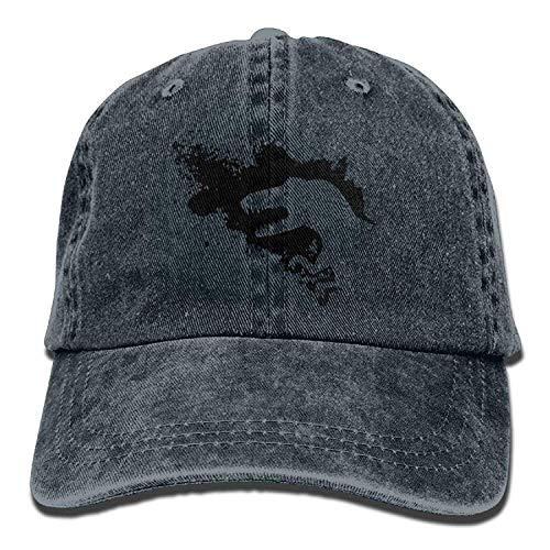 uykjuykj Baseball Caps Hats Funny Bag Black Dinosaur Denim Hat Men s Fitted  Baseball Caps Adjustable Unique 0c61cd1b0e42