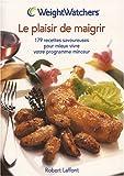 Telecharger Livres Le plaisir de maigrir 179 recettes savoureuses pour mieux vivre votre programme minceur (PDF,EPUB,MOBI) gratuits en Francaise