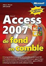 Access 2007 - De fond en comble - Livre+compléments en ligne