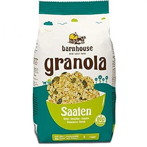 Barnhouse Bio Granola Müsli Saaten, 375 g