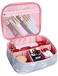 DivineXt Women's Zipper Polyester Makeup Organizer Toiletry Bag Kits