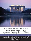Da Pam 220-1: Defense Readiness Reporting System-Army Procedures