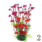 Dreammy Artificial Green Plant Aquarium Fish Tank Plastic Plants Decoration Ornament Tall Plant … 16