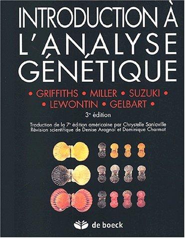 Introduction à l'analyse génétique par Collectif