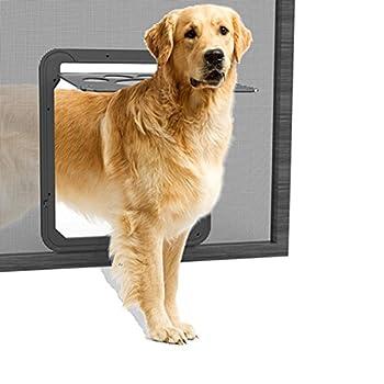 lesypet Porte Chatière Staywell pour animaux pour chien & chat, fenêtre freilauftür Grand Chien