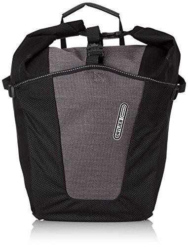 Ortlieb –Alforja Trasera Unisex Roller Pro Plus, Par, Bolsa de Bicicleta, Color Granit/Negro, tamaño Talla única, Volumen Liters 70.0