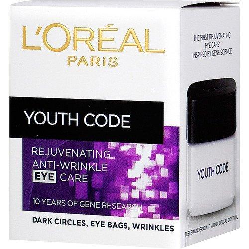 L'Oreal Youth Code Rejuvenating Anti-Wrinkle Eye Cream 15ml (Loreal Youth Code)