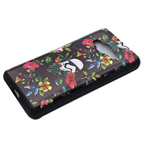 Voguecase® für Apple iPhone 7 Plus 5.5 hülle, Schutzhülle / Case / Cover / Hülle / TPU Gel Skin (Schwarz/mad here) + Gratis Universal Eingabestift Schwarz/Eibisch 01