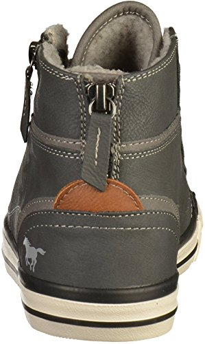 Mustang 1209-601 Womens Lace-Up Flats grigio (259 graphit)