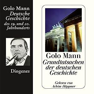 Grundtatsachen der deutschen Geschichte