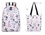 Best Hot Wheels Lunch Boxes - Winnerbag Casual Waterproof Polyester Women Backpacks Cute Hot Review