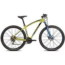 """'torpado bicicleta MTB Mercury 29""""Alu 3x 7V Disco Talla 53Amarillo V17(MTB con amortiguación)/Bicycle MTB Mercury 29Alu 3x 7S Disc Size 53Yellow V17(MTB Front Suspension)"""