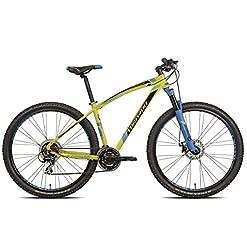 Torpado bici mtb mercury 29'' alu 3x7v disco taglia 53 giallo v17 (MTB Ammortizzate) / bicycle mtb mercury 29'' alu 3x7s disc size 53 yellow v17 (MTB Front suspension)