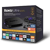 Roku Ultra | (2018) 4K/HDR/HD Streaming Player with Premium JBL Headphones, Voice Remote, Remote Finder, Ethernet and USB