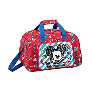Mickey Mouse «Maker» Oficial Bolsa De Deporte 400x230x240mm