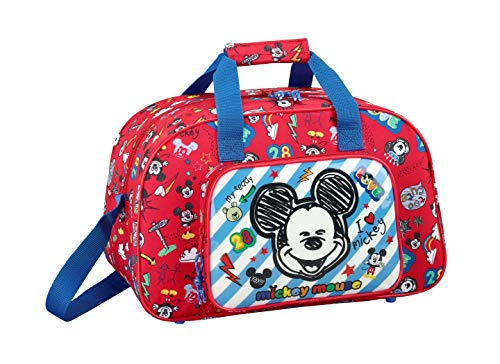 "Mickey Mouse ""Maker"" Oficial Bolsa De Deporte 400x230x240mm"