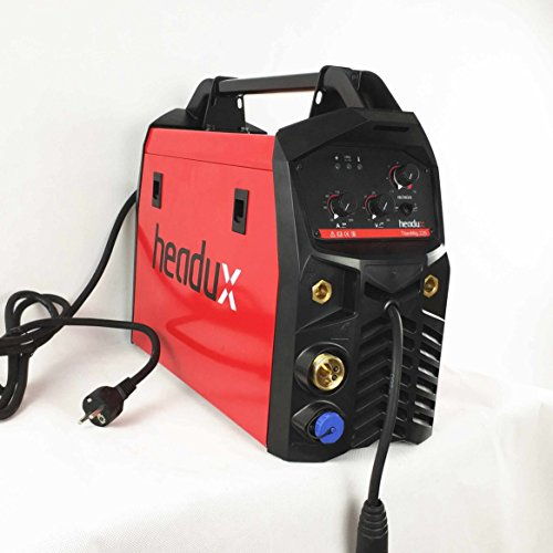 MIG Schweißanlage 225eine 3in1Multifunktions Schweißen MMA/Stick Mig/Mag Spule Gun 15AK Taschenlampe IGBT Inverter Welder