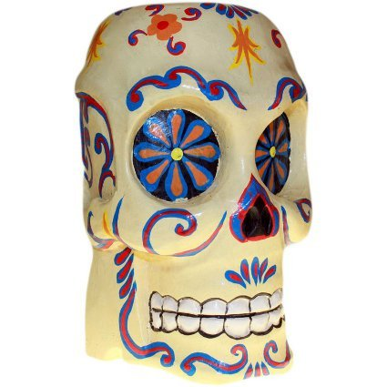 Antica saggezza Arty Painted Skull