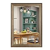 Bathroom mirror Badspiegel, EuropäIscher Rechteckiger Wand-Schminkspiegel, Amerikanischer Schminkspiegel