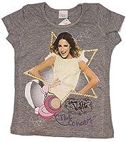 Disney Violetta t-shirt in vari colori e taglie, il rosa varia nelle sue tonalità qualcosa, qualcosa luminosi o