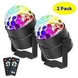 CrazyFire Discokugel LED Party Lampe,Disco Lichteffekte Sprachaktiviertes...
