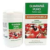 Guaranà Puro Naturpharma 50 Vegan capsule da 500 mg di Estratto Puro titolato al 10% in Caffeina