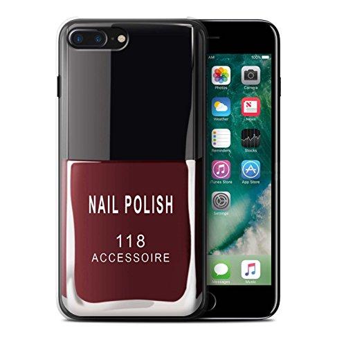 Coque de Stuff4 / Coque pour Apple iPhone 6S / Violet Design / Vernis à Ongle/Maquillage Collection Rouge