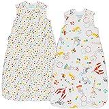 Juego de 2 sacos de dormir de Grobag (para bebés de 18a 36meses, t1.0/2.5 Tog)