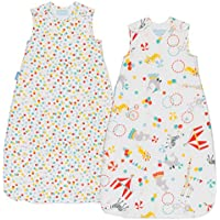 Grobag Roll Up Wash and Wear (6 to 18 Months, 1.0 tog, Pack of 2)