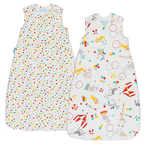Grobag Roll Up Wash and Wear (18 to 36 Months, 1.0 tog, Pack of 2)