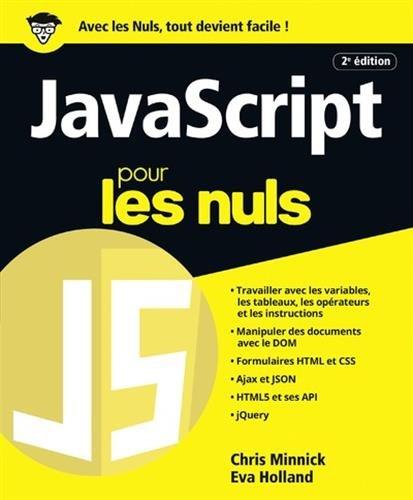 JavaScript pour les Nuls grand format, 2...