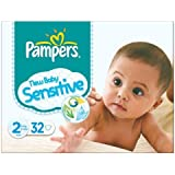 Pampers New Baby Taille 2 (3-6kg) Carry sensible pack Mini 6x32 par paquet