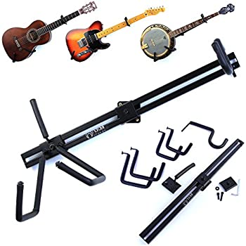 Electric Guitar Horizontal Hanger Wall Mount Stand Swe