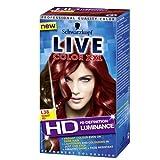 Schwarzkopf Live Luminance L38 Radiant Rot Permanente Haar Farbe