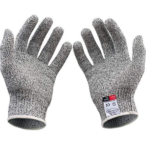 Gudelaa Cut Resistant Handschuhe, Safety Kitchen und Outdoor Cut Handschuhe, Anti-Cut Handschuhe Küche Kinder