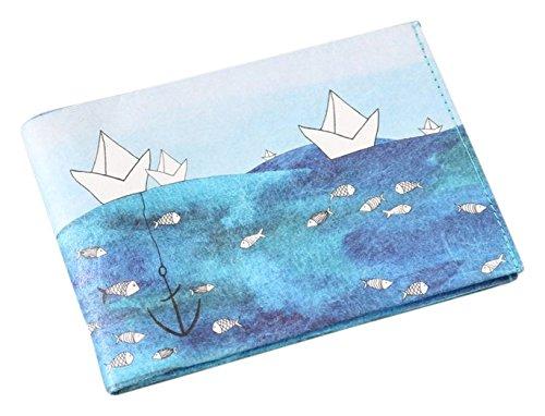 Preisvergleich Produktbild Paprcuts Portemonnaie - Ship Ahoi (Big): Ultraleichte Geldbörse - reißfest, wasserfest, recyclebar