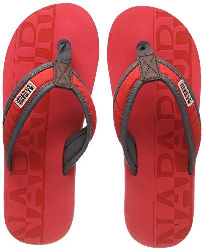 Rosso 46 EU NAPAPIJRI FOOTWEAR Toledo Infradito Uomo Bright Red h0i