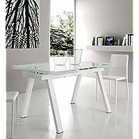 Amazon.it: tavolo allungabile vetro - Tavoli / Cucina: Casa e cucina